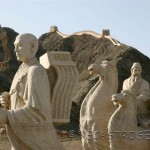 Jiayuguan.El punto mas occidental de la Gran Muralla.
