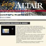 El blog en Altaïr