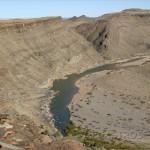 Fish river canyon. El segundo cañón mas grande del mundo.