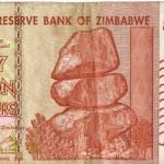 Dólares de Zimbabwe