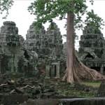 Banteay Kdei. La ciudadela de las celdas