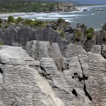 Punakaiki. The Pancake rocks.