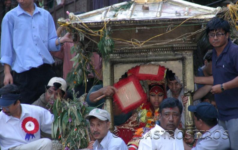 Katmandú y la diosa viviente Kumari