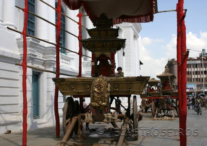 Fiesta de la diosa Kumari.