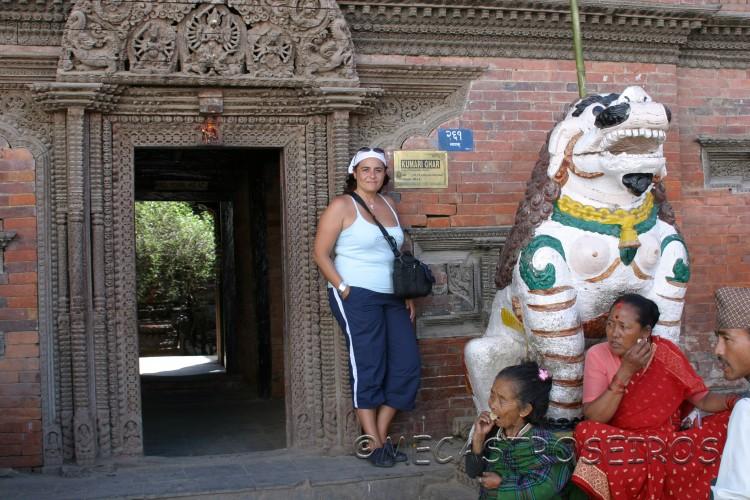 Palacio de la diosa Kumari.