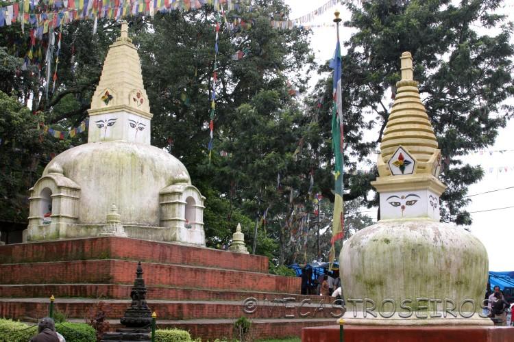 Stupa budista de Swayambunath.