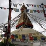 La estupa de Bodnath
