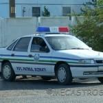 Coche de Policía de Uzbekistán