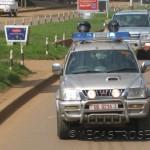 Coche de Policía de Uganda