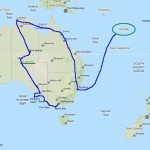 Australia e Islas Vanuatu.Itinerario.