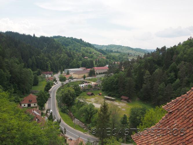 DJ112H, Bran, Romania