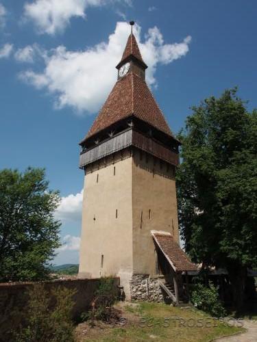 DJ141B, Biertan, Romania