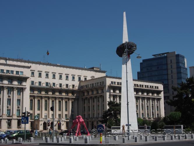 Calea Victoriei, Bucharest, Romania
