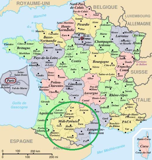 Ruta por Midi – Pyrénées