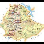 Etiopía de sur a norte. Itinerario. (16 días).