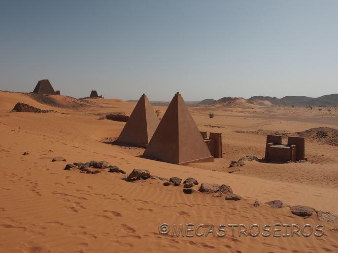 Meroe. La magia de las pirámides.