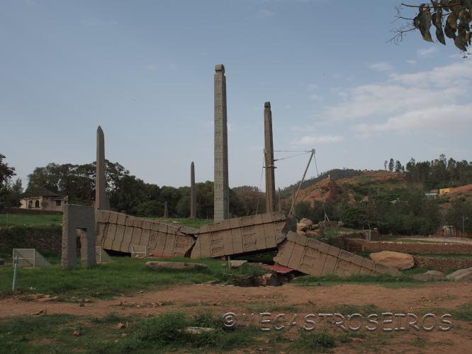 Aksum. La ciudad del arca de la alianza.